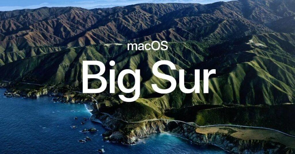Mac OS X Big Sur